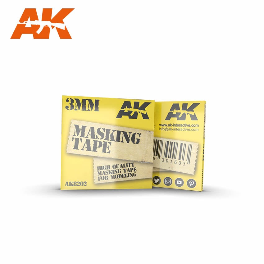 AK Interactive Masking Tape 3 mm
