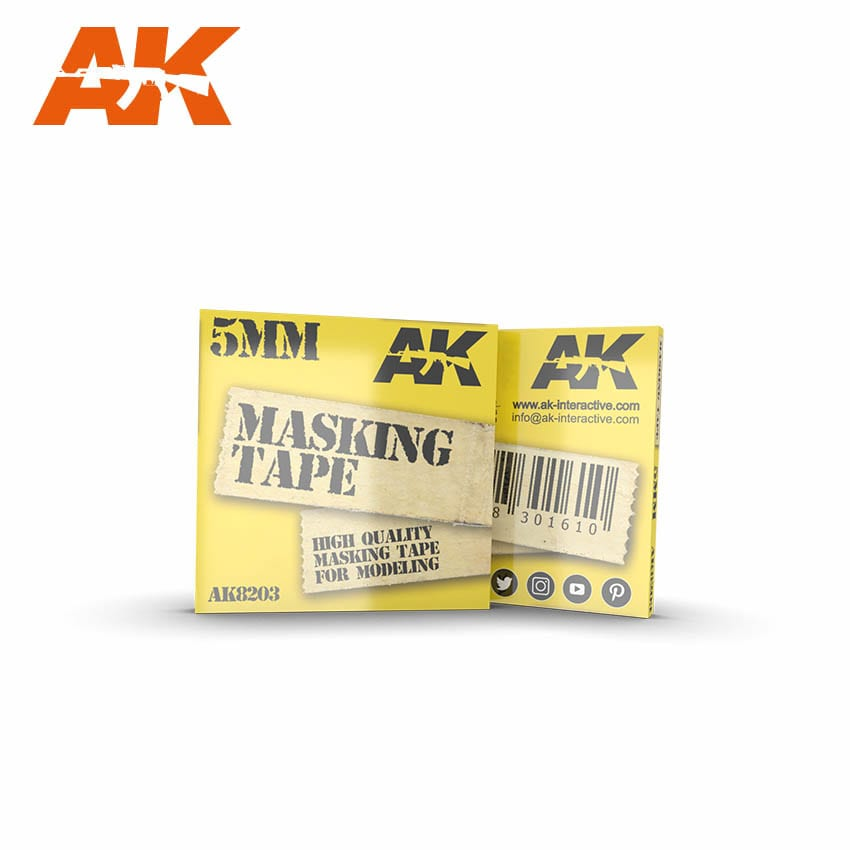 AK Interactive Masking Tape 5 mm
