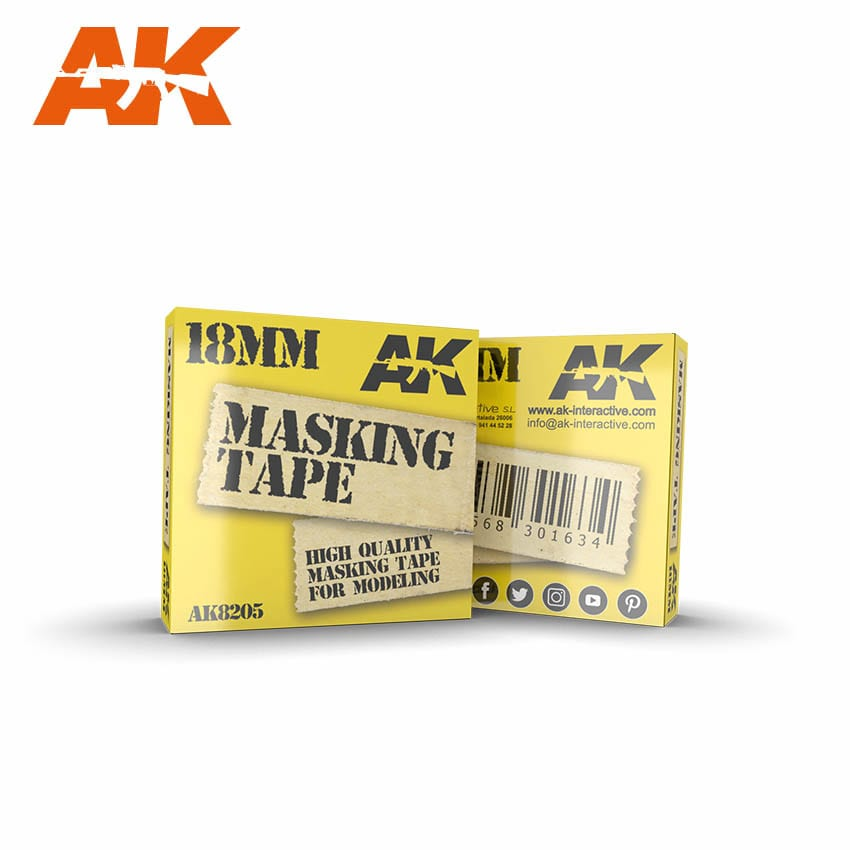 AK Interactive Masking Tape 18 mm