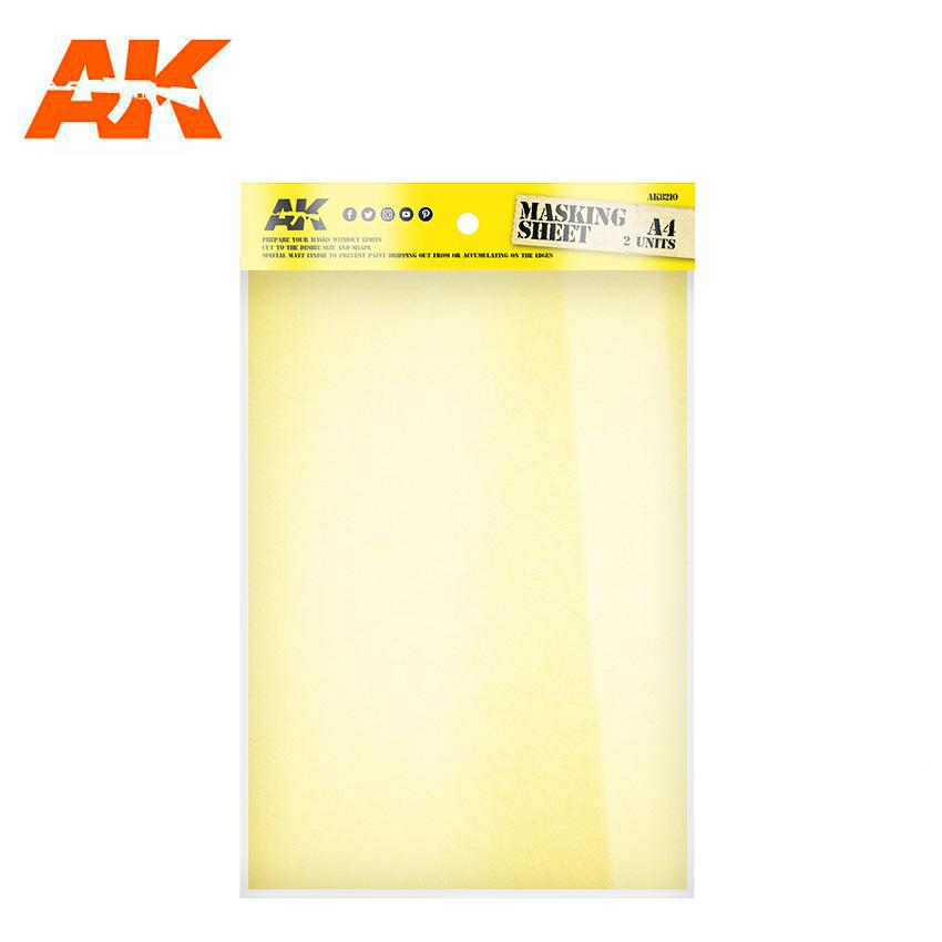 AK Interactive Masking Sheet A4