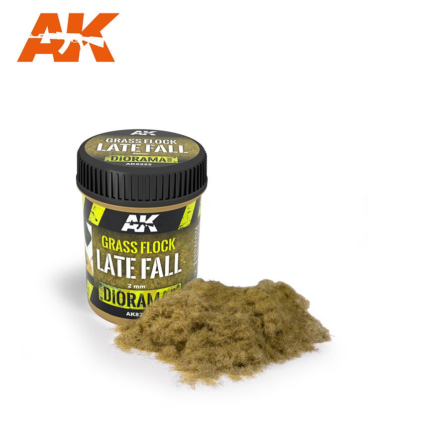 AK Interactive Grass Flock 2mm LATE FALL