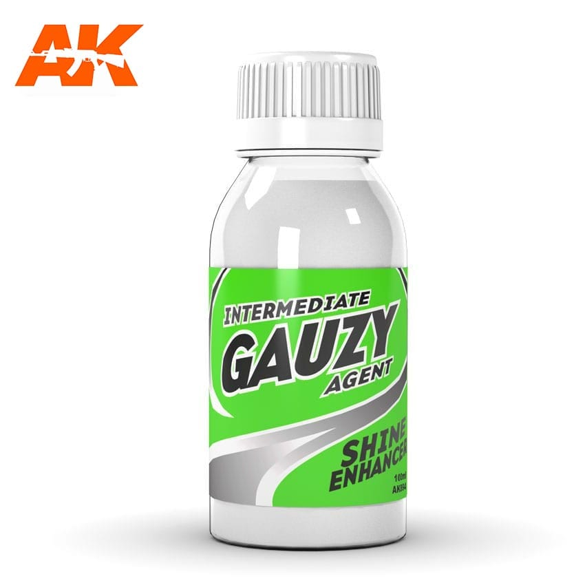 AK Interactive Intermediate Gauzy Agent Shine Enhancer