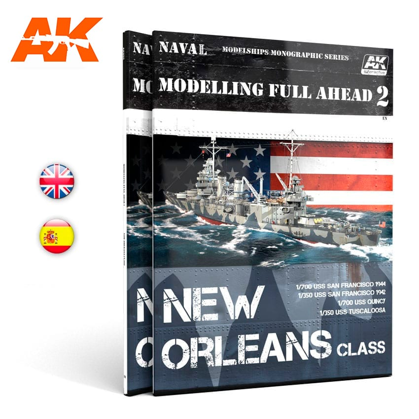 AK Interactive MODELLING FULL AHEAD 2 - English