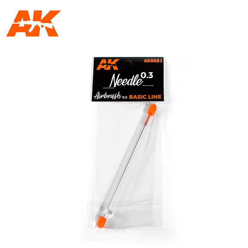 AK Interactive 0.3 Needle Airbrush Basic Line 0.3