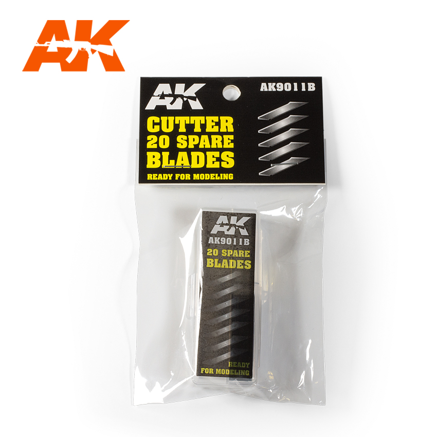 AK Interactive Cutter 20 Spare Blades