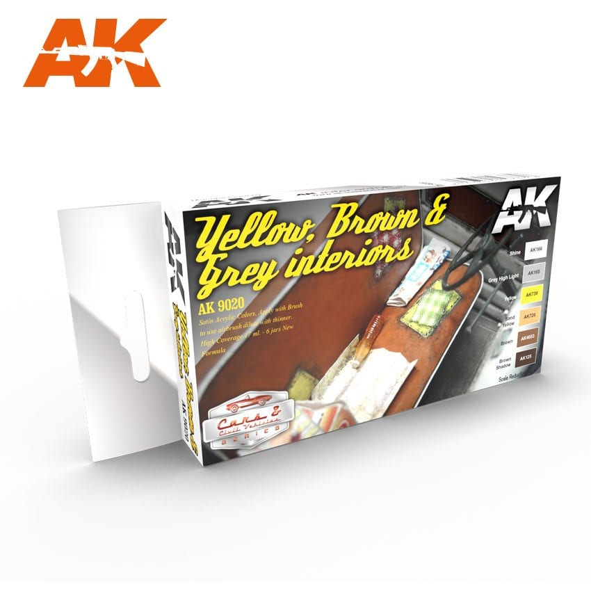 AK Interactive Yellow, Brown & Grey Interiors