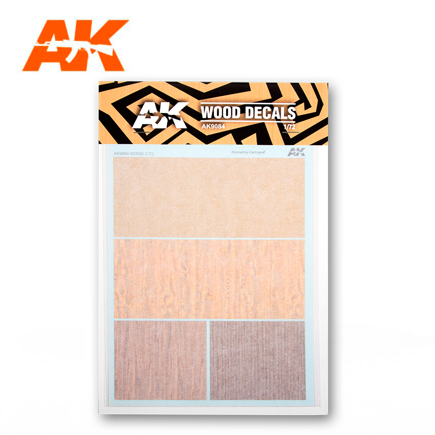 AK Interactive Wood Decals