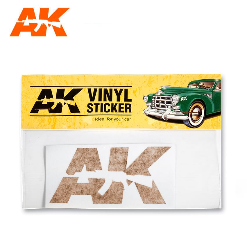 AK Interactive Vinyl Sticker Orange