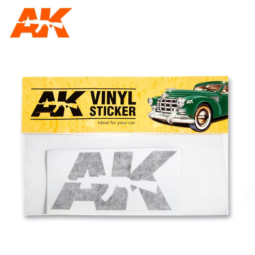 AK Interactive Vinyl Sticker Black