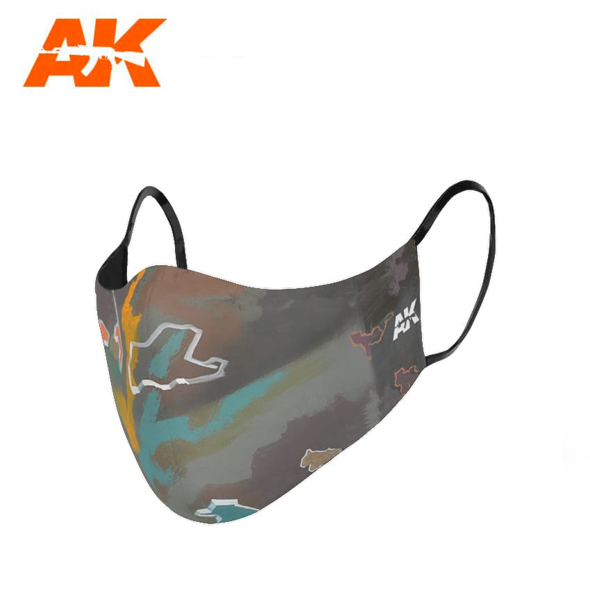 AK Interactive Urban Camouflage Face Mask 1