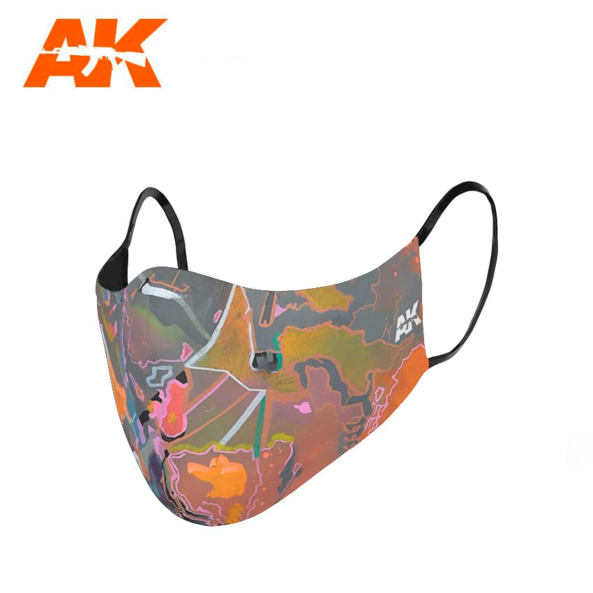 AK Interactive Urban Camouflage Face Mask 2