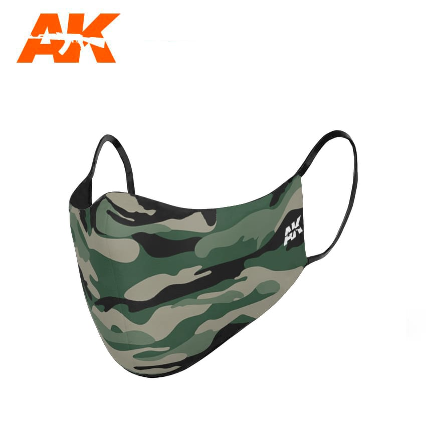 AK Interactive Classic Camouflage Face Mask 01