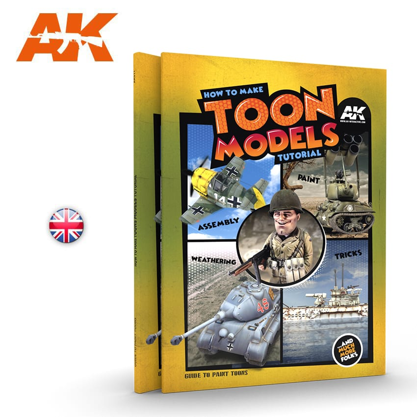 AK Interactive How to make TOON MODELS tutorial - English