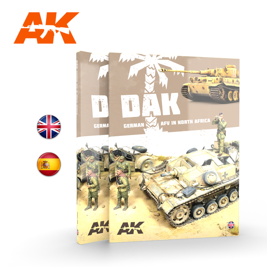 AK Interactive DAK German AFV in North Africa - English