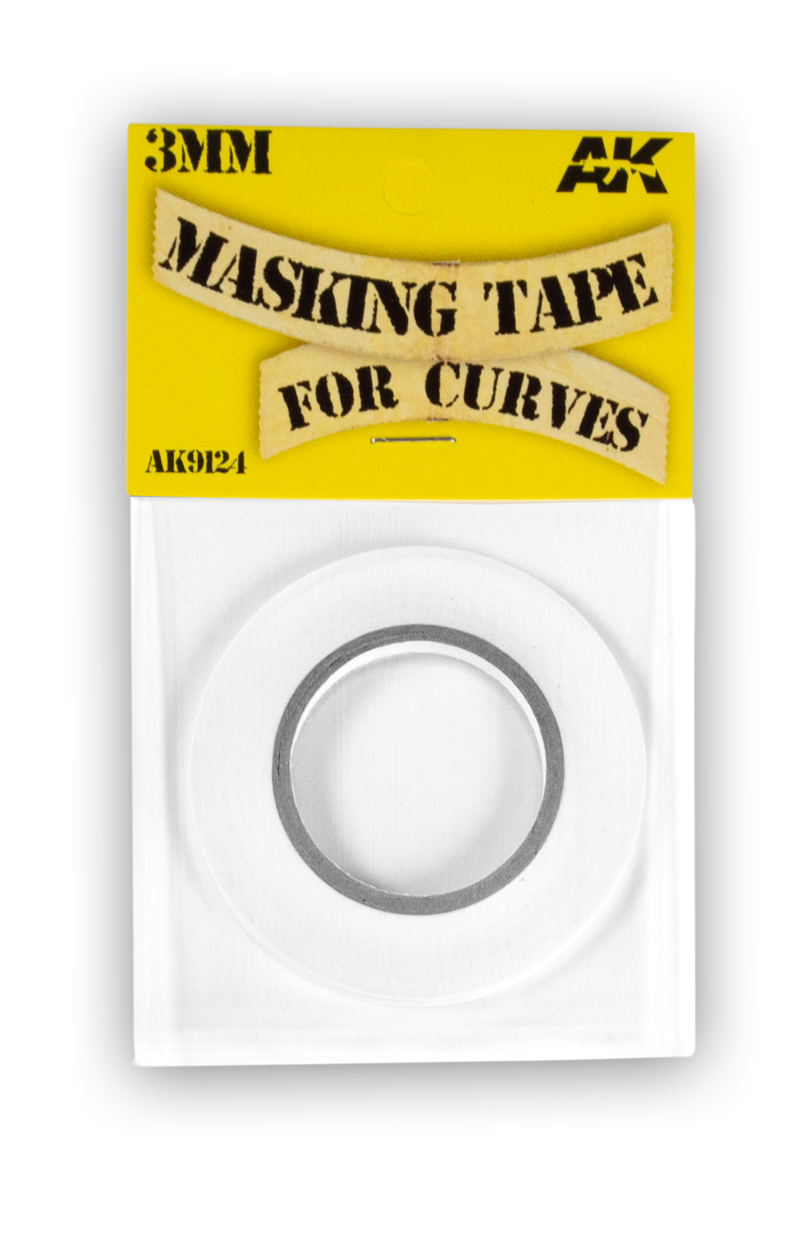 AK Interactive Masking Tape for Curves 3mm