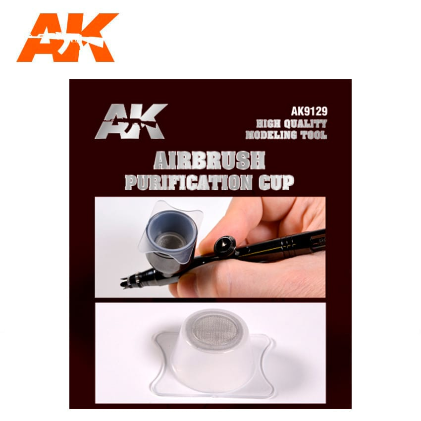 AK Interactive Purification Cups For Airbrush