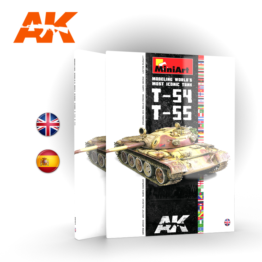 AK Interactive T-54/T-55 Modeling World's Most Iconic Tank - English