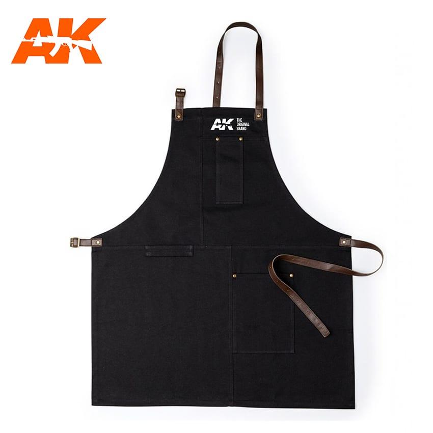 AK Interactive Work Apron - Black