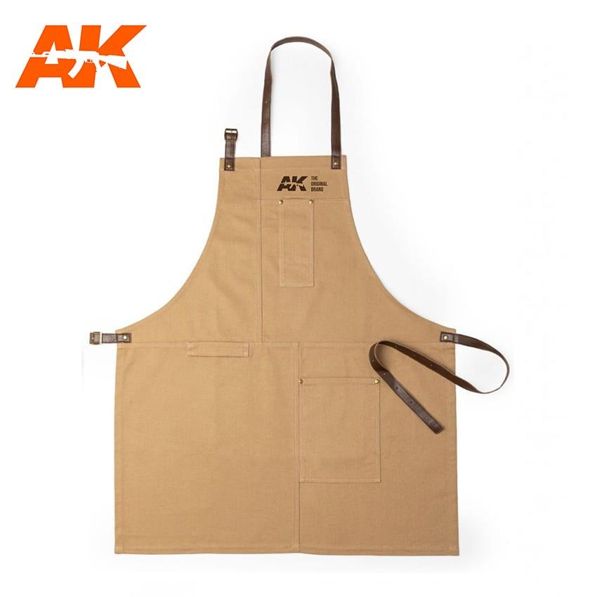 AK Interactive Work Apron - Brown