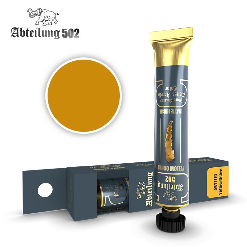 Abteilung 502 High Quality Dense Acrylic, Yellow Ochre
