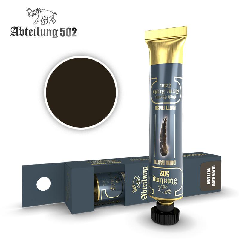 Abteilung 502 High Quality Dense Acrylic, Dark Earth