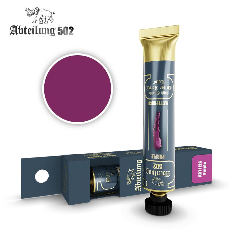 Abteilung 502 High Quality Dense Acrylic, Purple