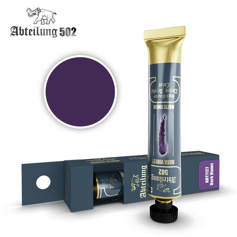 Abteilung 502 High Quality Dense Acrylic, Dark Violet