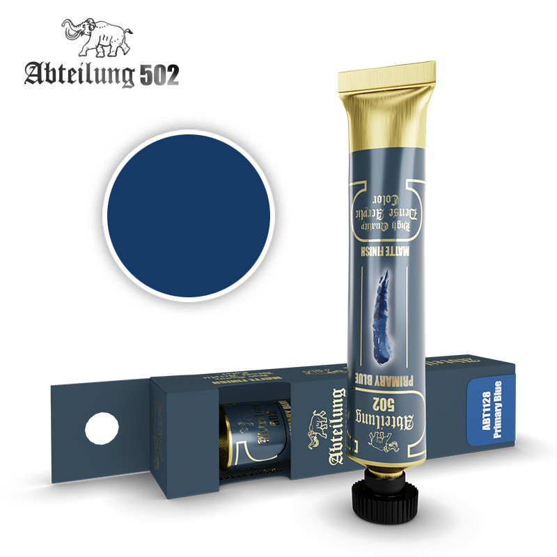 Abteilung 502 High Quality Dense Acrylic, Primary Blue