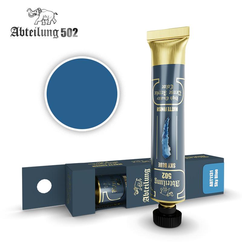 Abteilung 502 High Quality Dense Acrylic, Sky Blue
