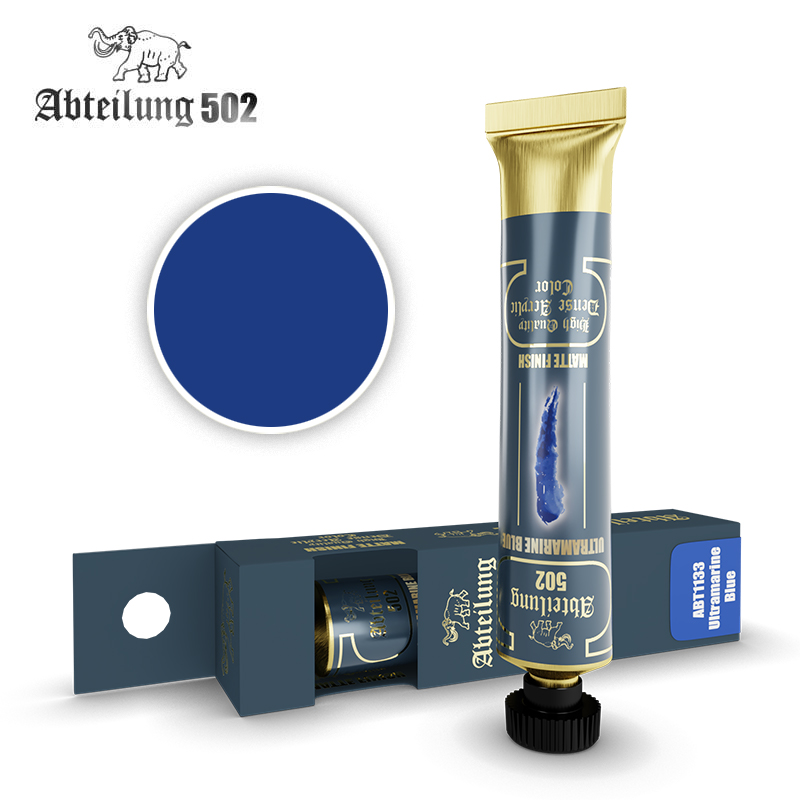 Abteilung 502 High Quality Dense Acrylic, Ultramarine Blue