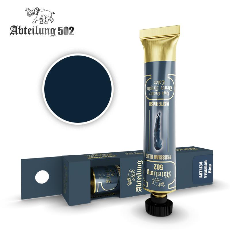 Abteilung 502 High Quality Dense Acrylic, Prussian Blue