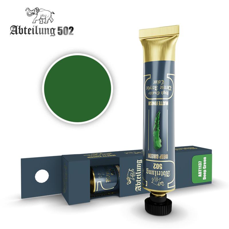 Abteilung 502 High Quality Dense Acrylic, Deep Green