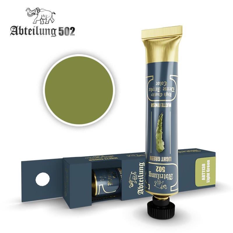 Abteilung 502 High Quality Dense Acrylic, Light Green