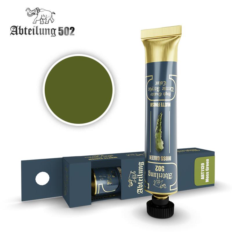 Abteilung 502 High Quality Dense Acrylic, Moss Green