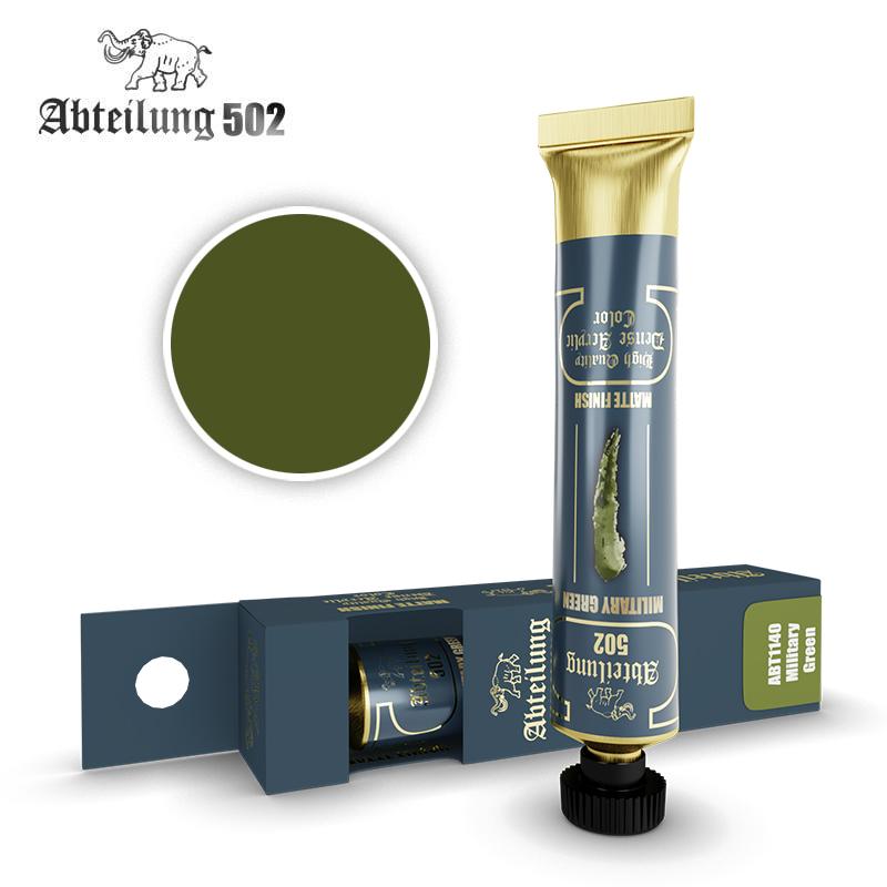 Abteilung 502 High Quality Dense Acrylic, Military Green