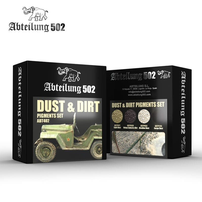 Abteilung502 Dust & Dirt - Pigments Set