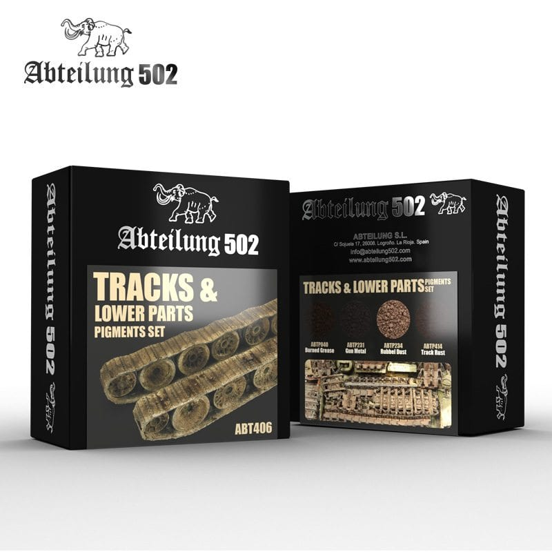 Abteilung502 Tracks & Lower Parts - Pigment Set