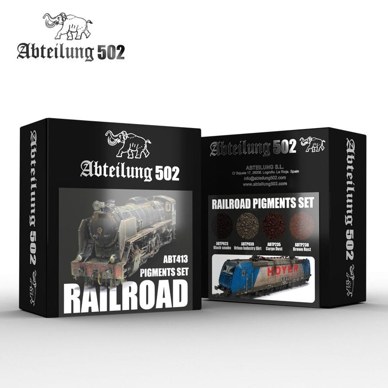 Abteilung502 Railroad Pigments Set