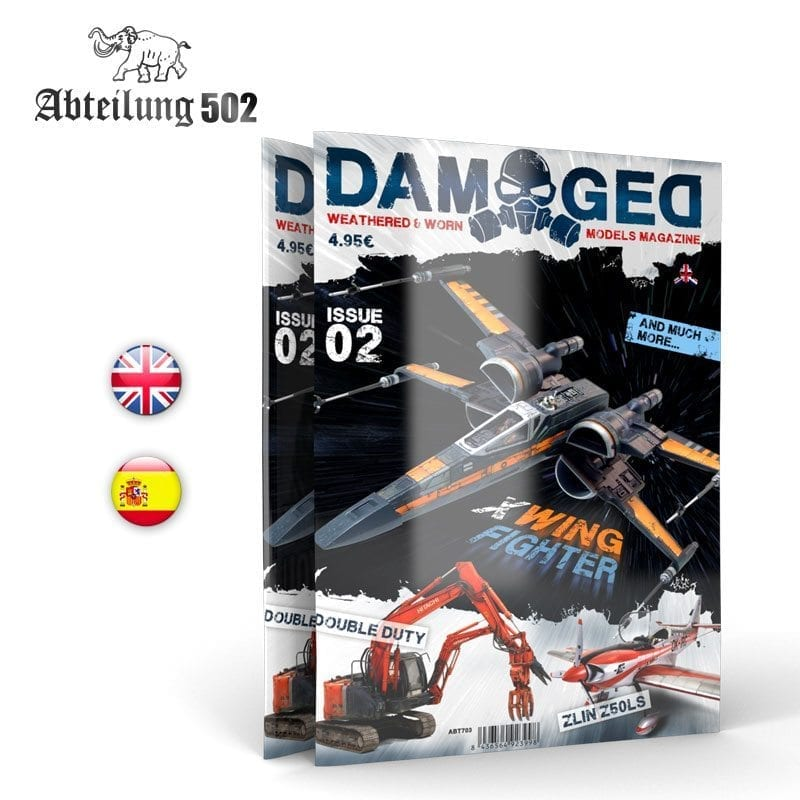 Abteilung502 DAMAGED, Worn and Weathered Models Magazine - 02 (English)