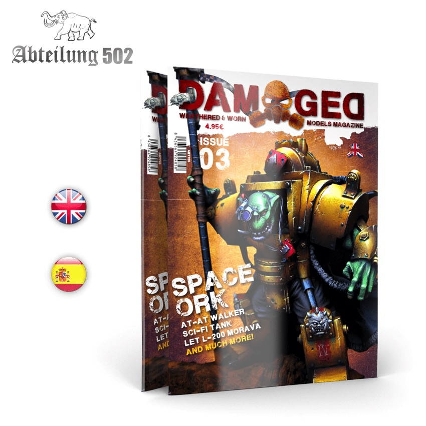 Abteilung502 DAMAGED, Worn and Weathered Models Magazine - 03 (English)