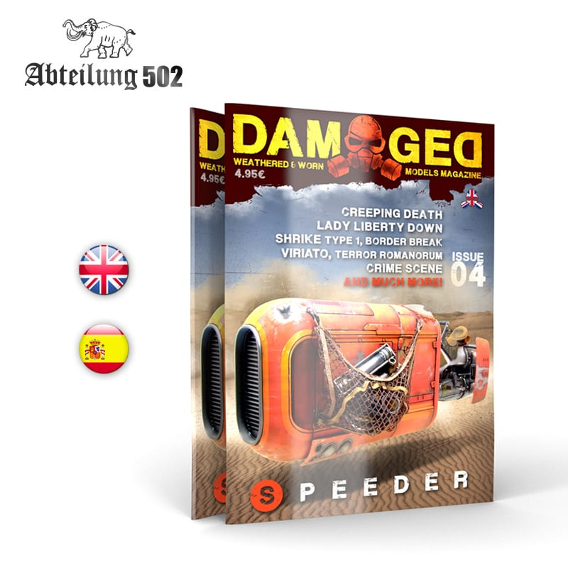 Abteilung502 DAMAGED, Worn and Weathered Models Magazine - 04 (English)