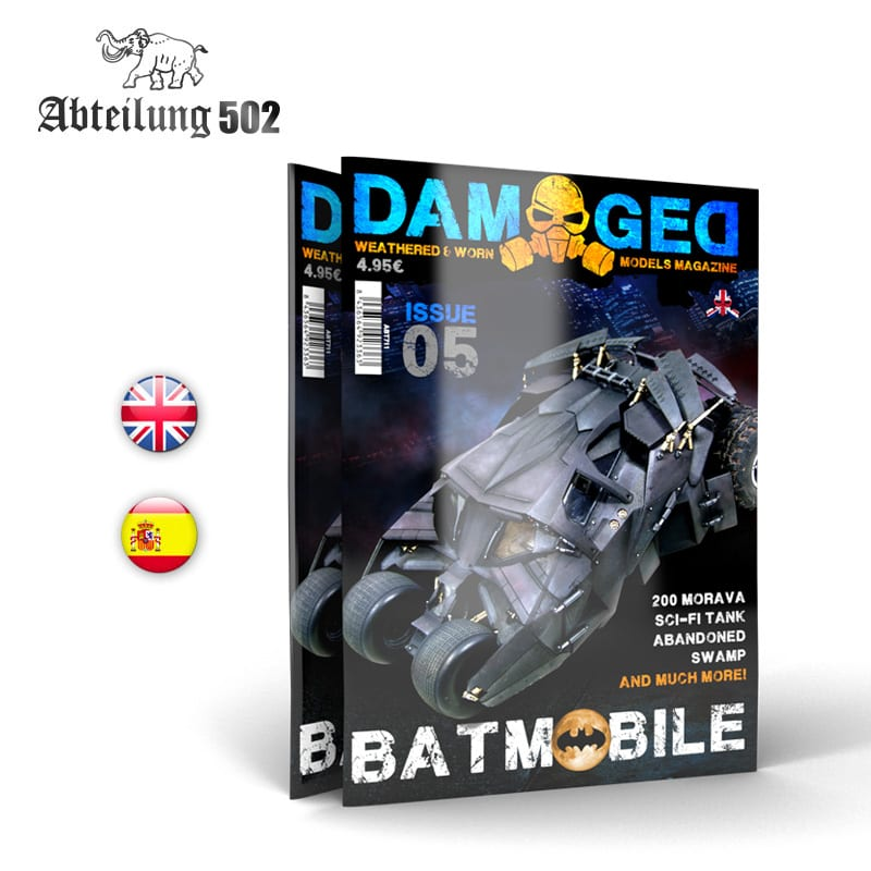 Abteilung502 DAMAGED, Worn and Weathered Models Magazine - 05 (English)