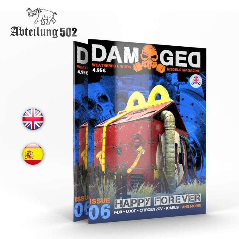 Abteilung502 DAMAGED, Worn and Weathered Models Magazine - 06 (English)