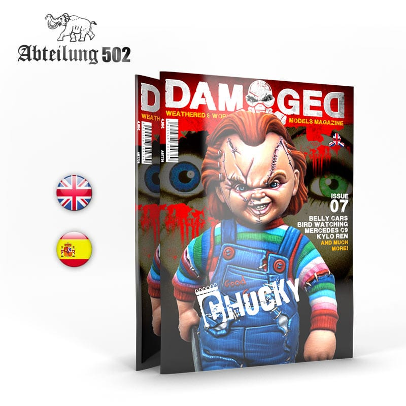 Abteilung502 DAMAGED, Worn and Weathered Models Magazine - 07 (English)