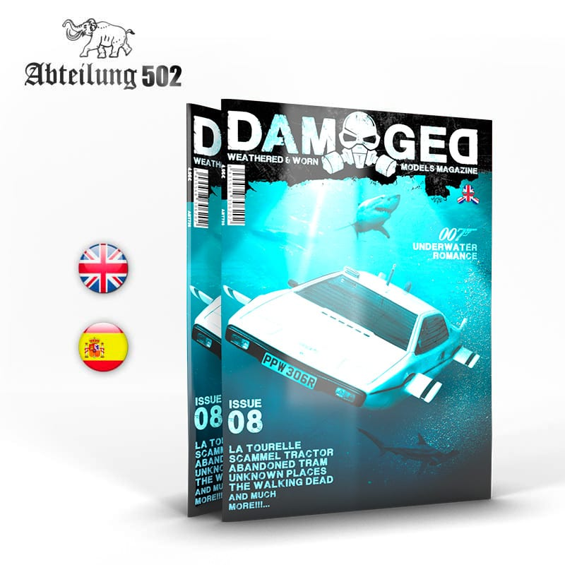 Abteilung502 DAMAGED, Worn and Weathered Models Magazine - 08 (English)