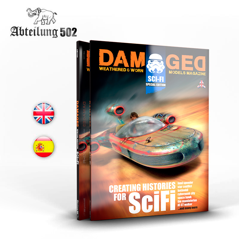 Abteilung502 Damaged Book Special Scifi (English)