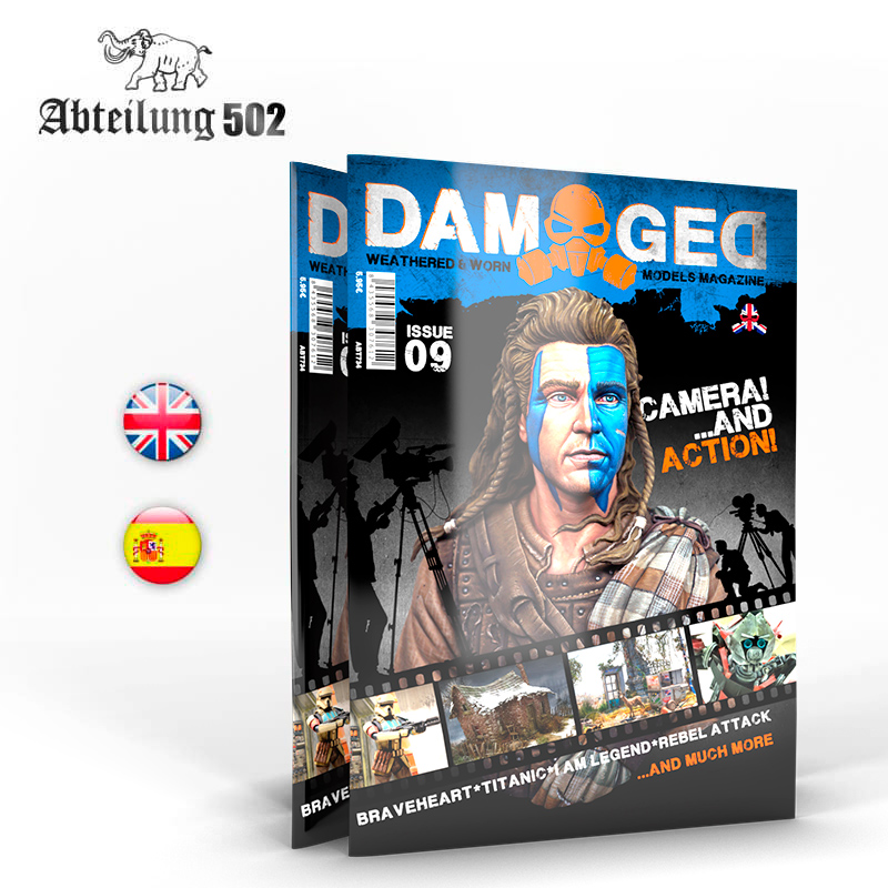 Abteilung502 Damaged, Worn And Weathered Models Magazine - 09 (English)