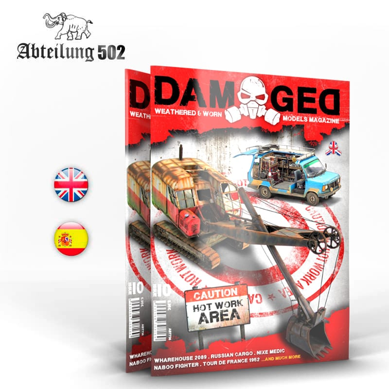 Abteilung502 DAMAGED, Worn and Weathered Models Magazine - 10 (English)