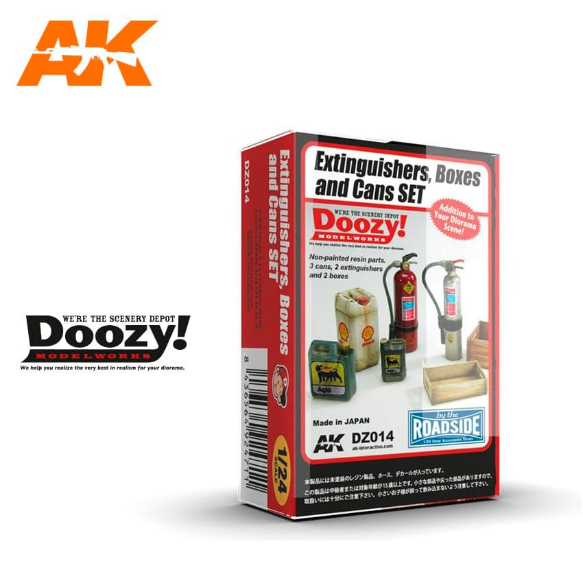 Doozy Extinguishers, Boxes And Cans Set