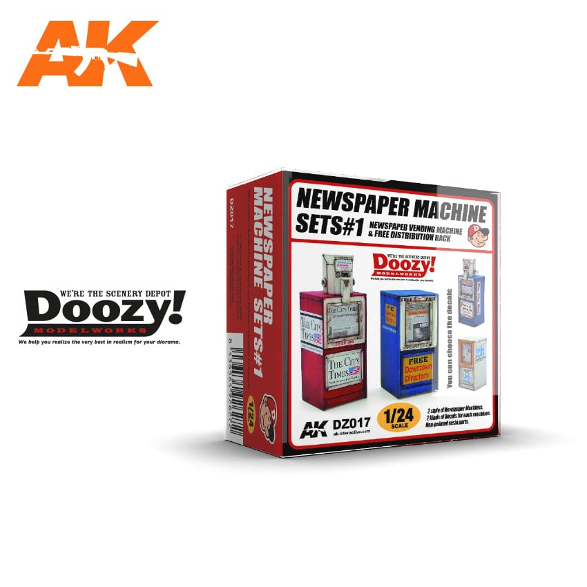 Doozy Newspaper Machine Sets 1